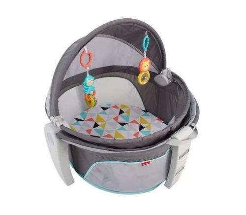 cuna domo de lujo portatil fisher price para bebes mecedor