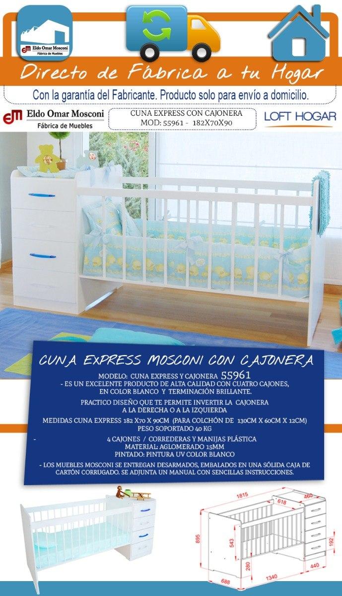 Lujoso Cunas Con Muebles De Cajones Adjunta Patrón - Muebles Para ...