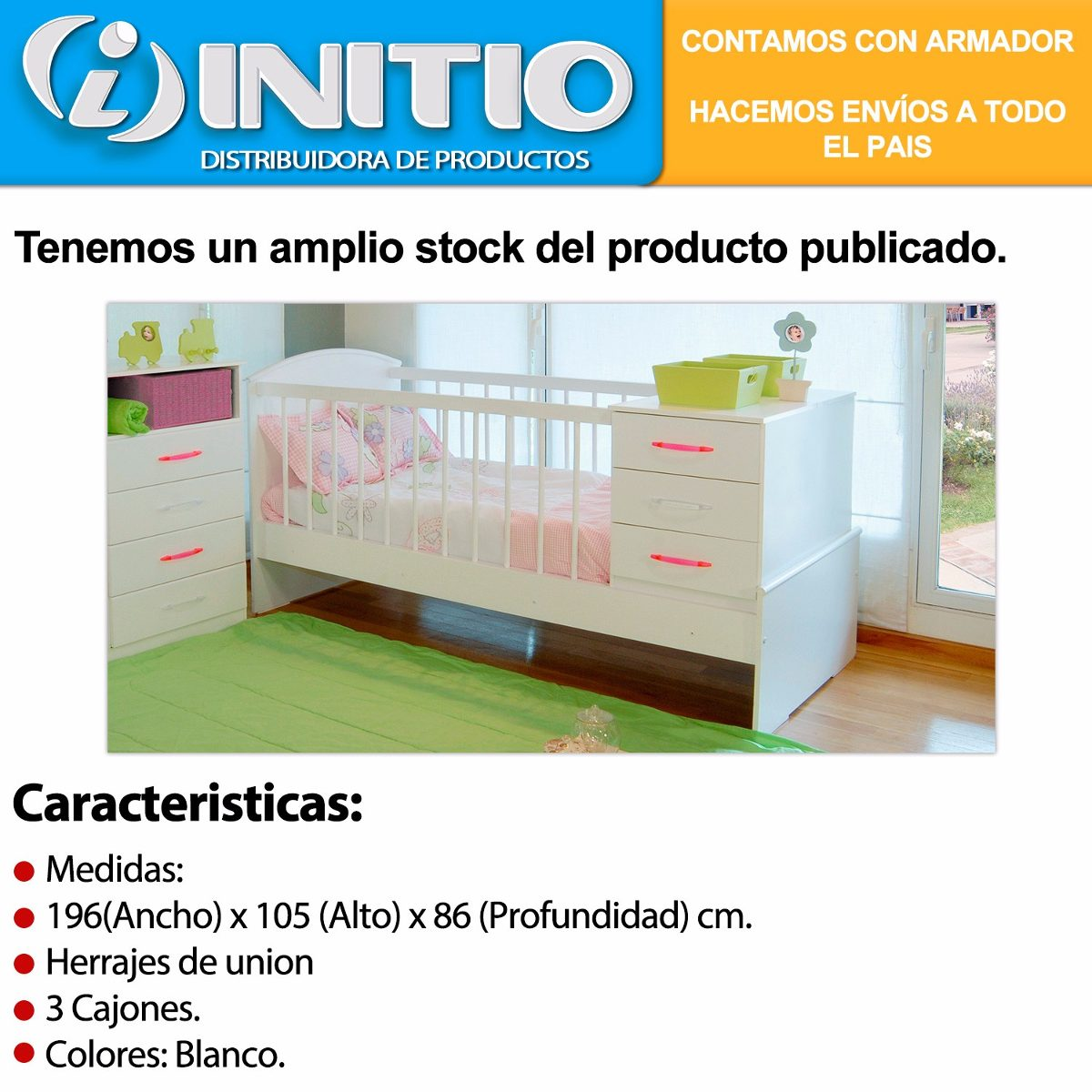 Moderno Bebés R Nosotros Muebles Cuna Molde - Muebles Para Ideas de ...