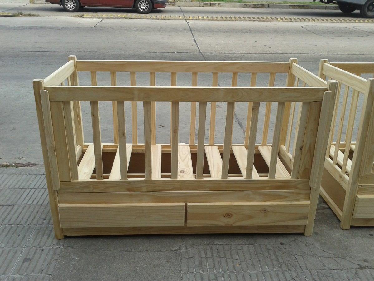 Cuna madera maciza con 2 cajones en mercado - Cuna con cajones ...