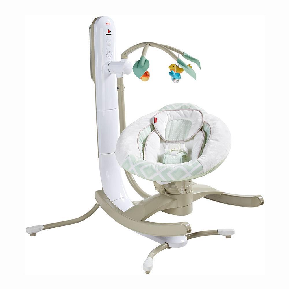 Cuna Mecedora 4 En 1 Fisher Price Baby Gear - $ 3,250.00 en Mercado ...