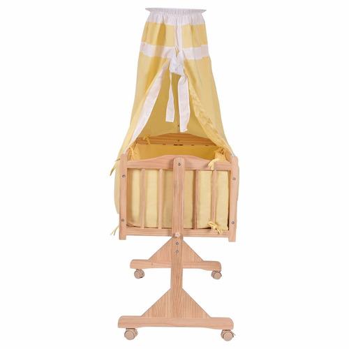 Cuna mecedora de madera 2 en mercado libre for Mecedora de madera