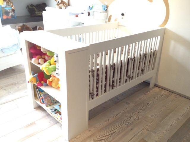 Cuna moderna en madera blanca 4 en mercado libre - Modelo de cunas ...