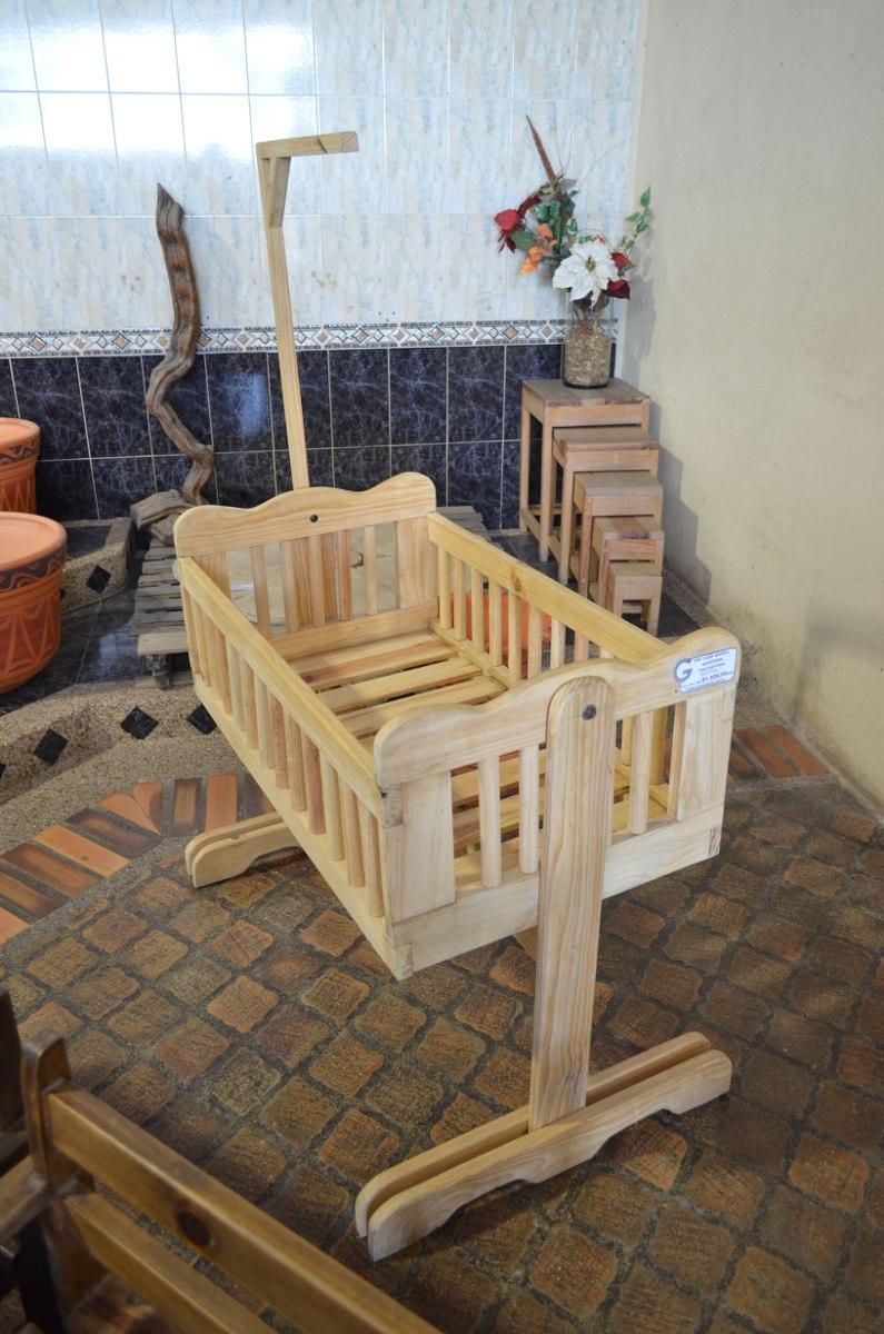 Cuna moises para bebe de madera bs en mercado for Cunas para bebes de madera