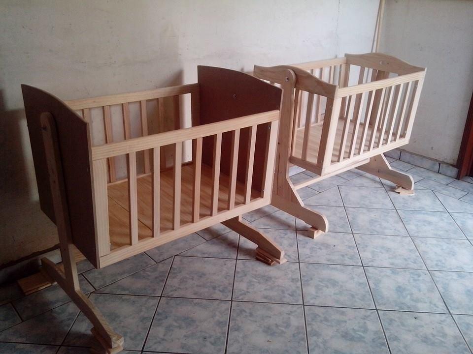 Cuna moises mecedora de madera 2 en mercado libre - Moises o cuna ...