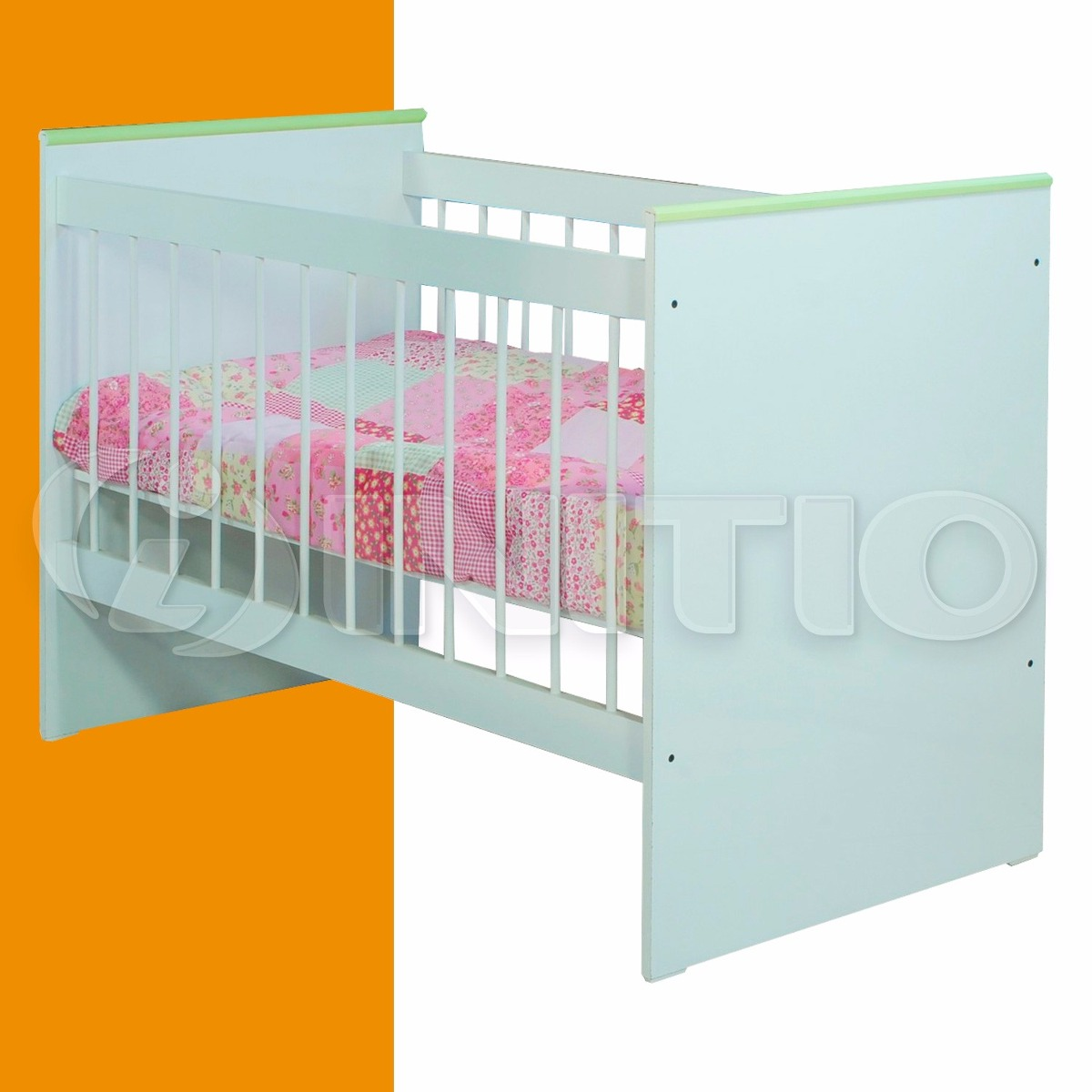 Cuna Mueble De Melamina Bebe Infantil Maria Mosconi - $ 1.999,00 en ...