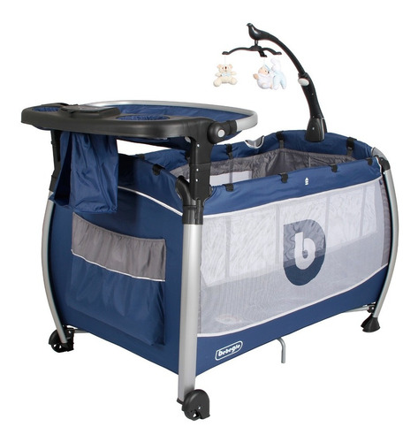 cuna pack & play bebeglo navy