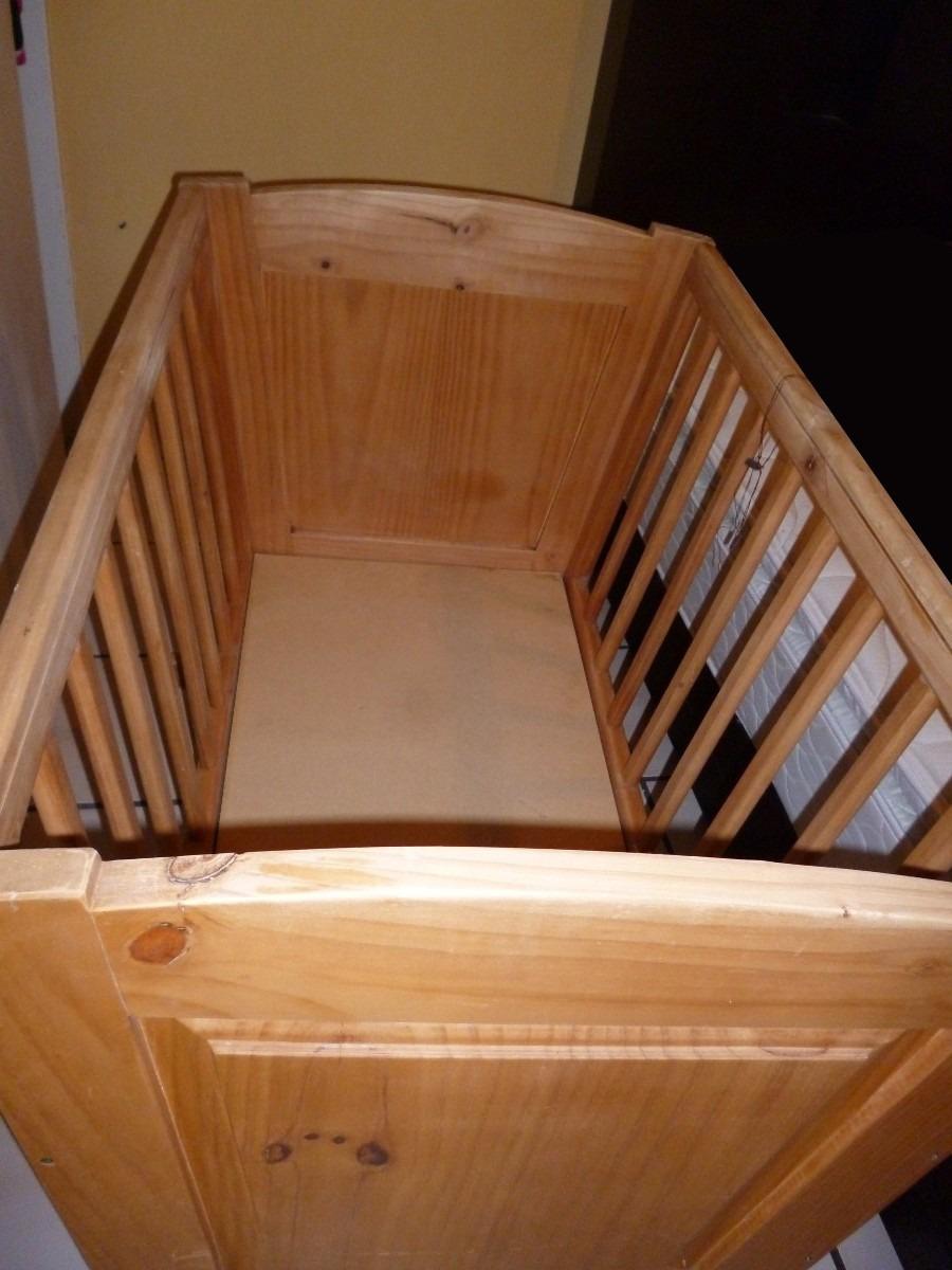Cuna para bebe de madera 1 en mercado libre - Cuna de mimbre para bebe ...