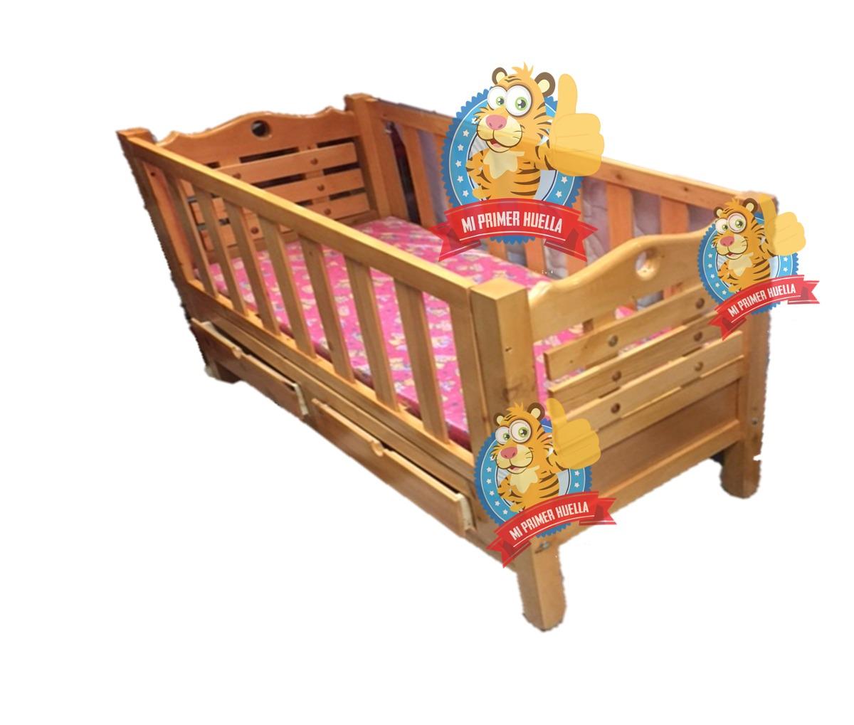Cuna para bebe en madera 100 70 x de bebe cama cuna en mercado libre - Cuna cama para bebe ...