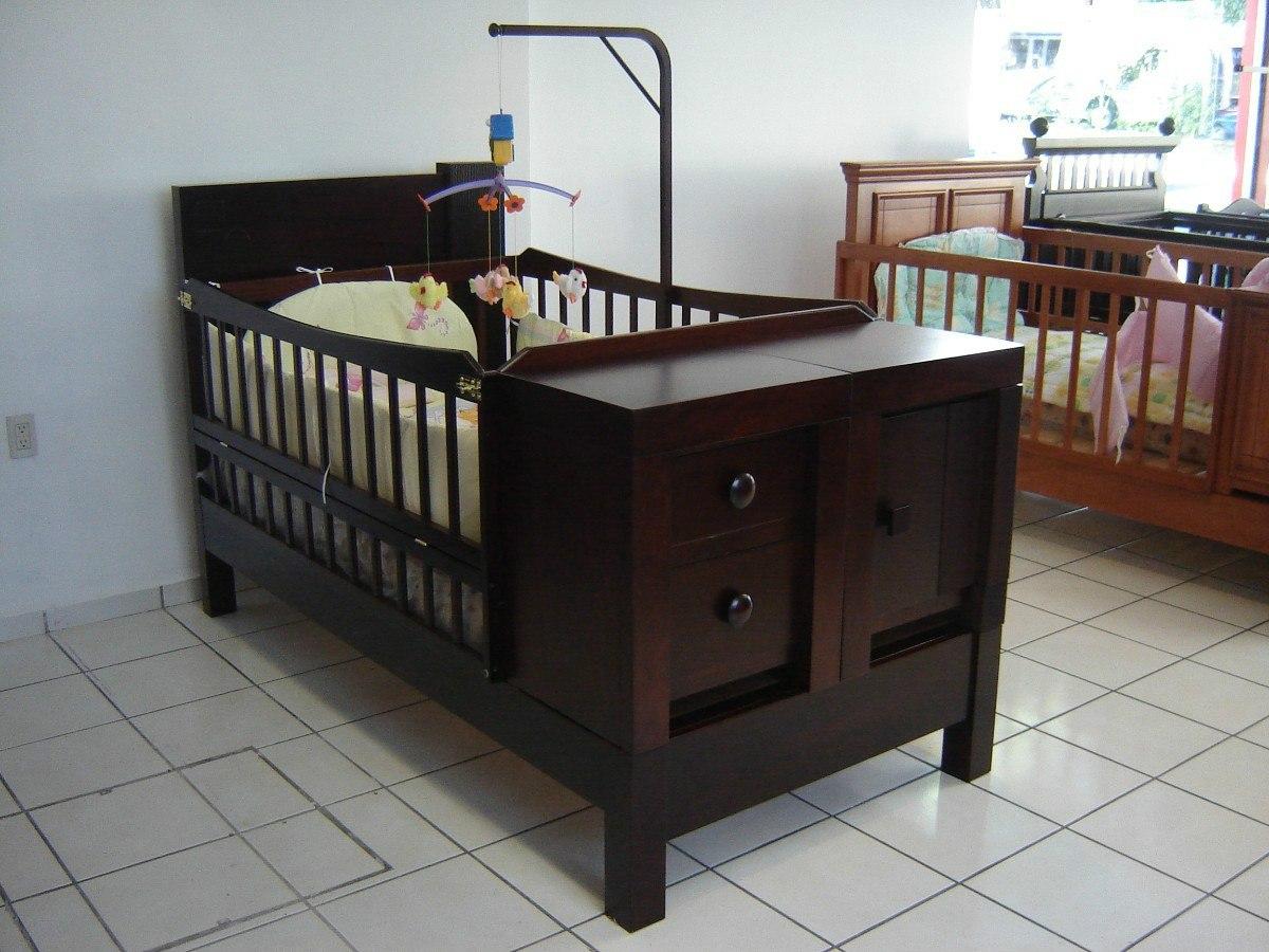 Cuna para beb modelo 2 4 en mercado libre for Cunas para bebes de madera