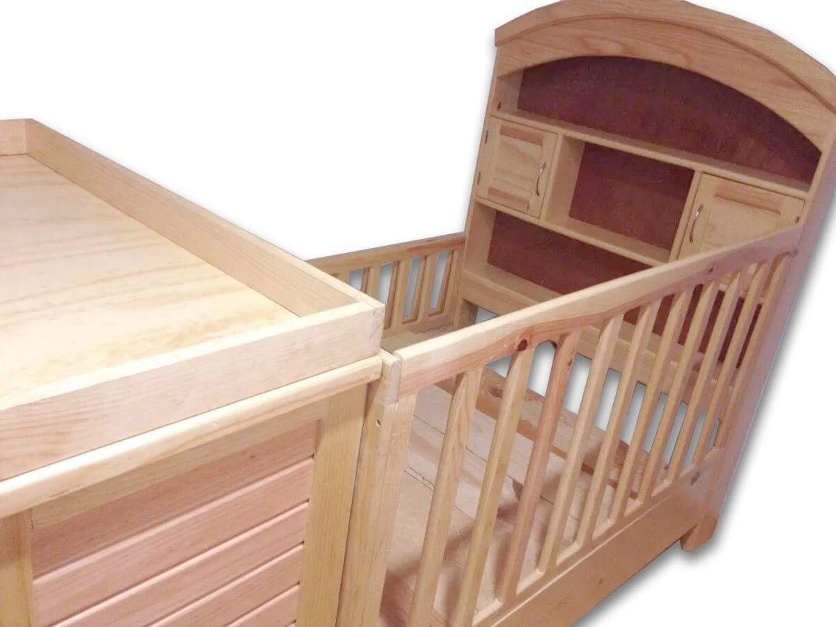 Cuna Para Bebé. Muebles Unión - $ 6,280.00 en Mercado Libre