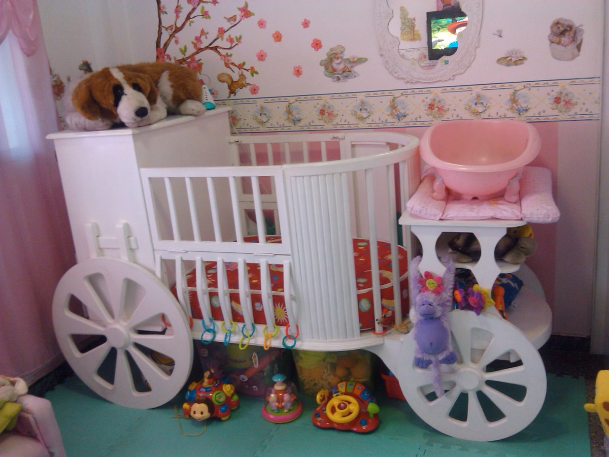 Cuna Para Bebe Nia Great Ideas Super Tiernas Para Decorar Una