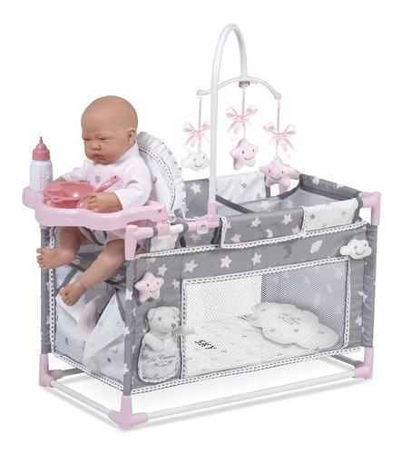cuna parque cambiador accesorios bebe muñeca llorens juguete