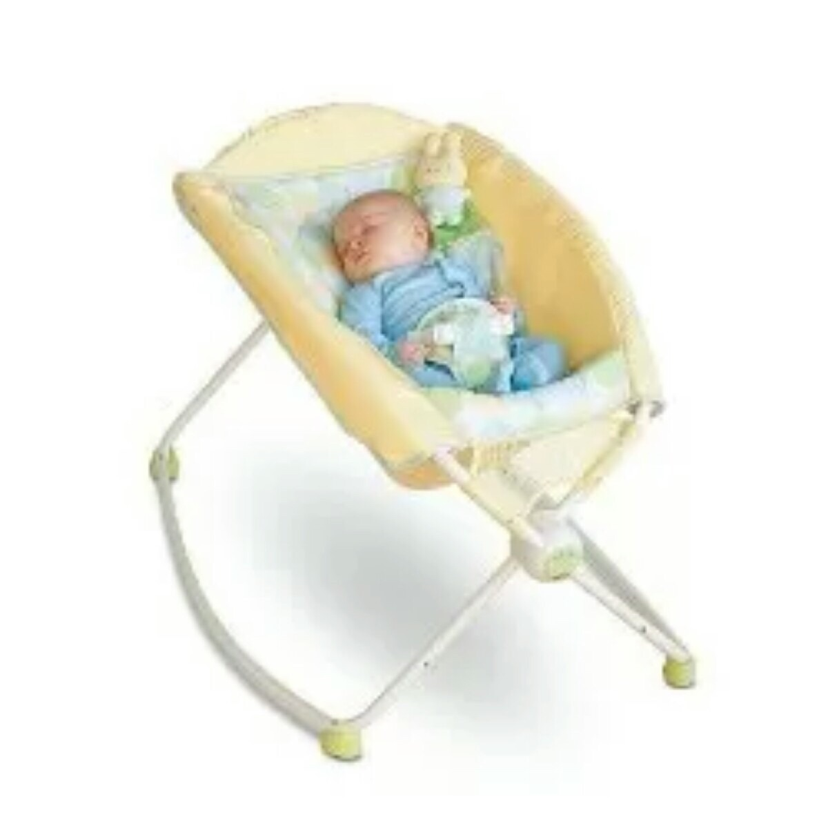 086bc7b1d Cuna Plegable Fisher Price Mecedora - $ 19.990 en Mercado Libre