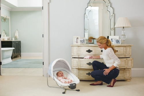 cuna practicuna graco albie fashion con bouncer extraible