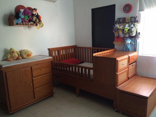Cuna y muebles para cuarto de bebe 11 en mercado libre - Muebles para cuarto de bebe ...