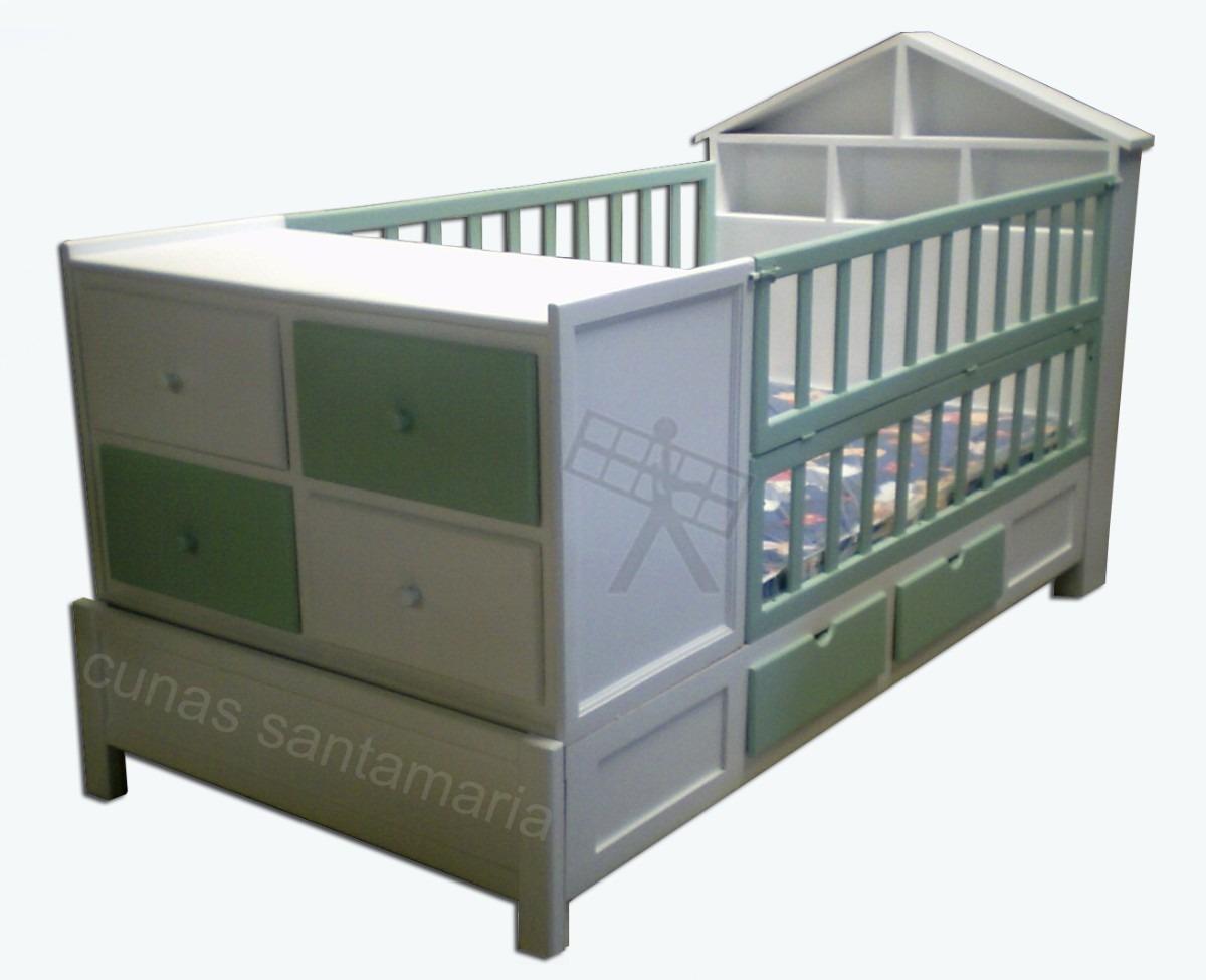 Cunas cama cunas para bebes 5 en mercado libre - Colchon cambiador bebe medidas ...