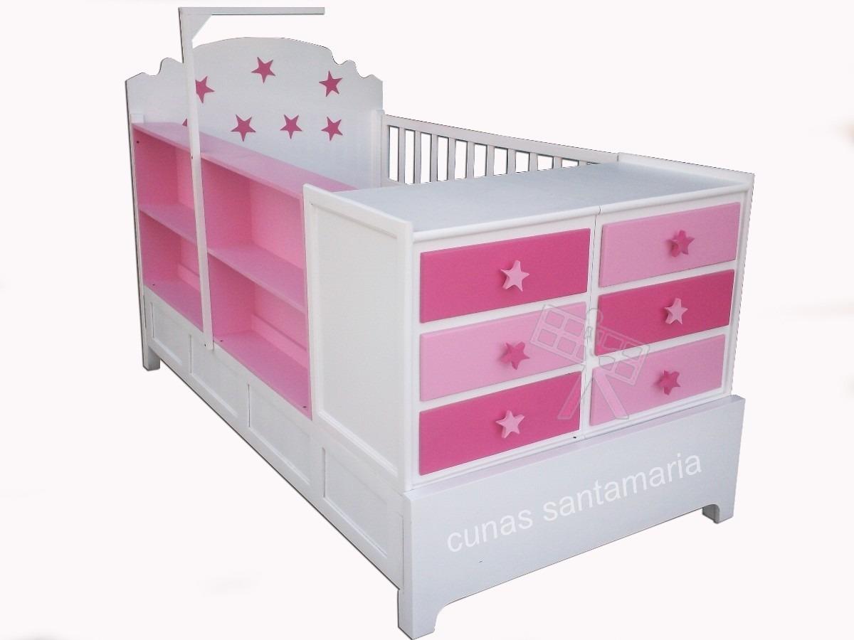 Cunas cama cunas para bebes 5 en mercado libre - Cambiador de bebe de pared ...