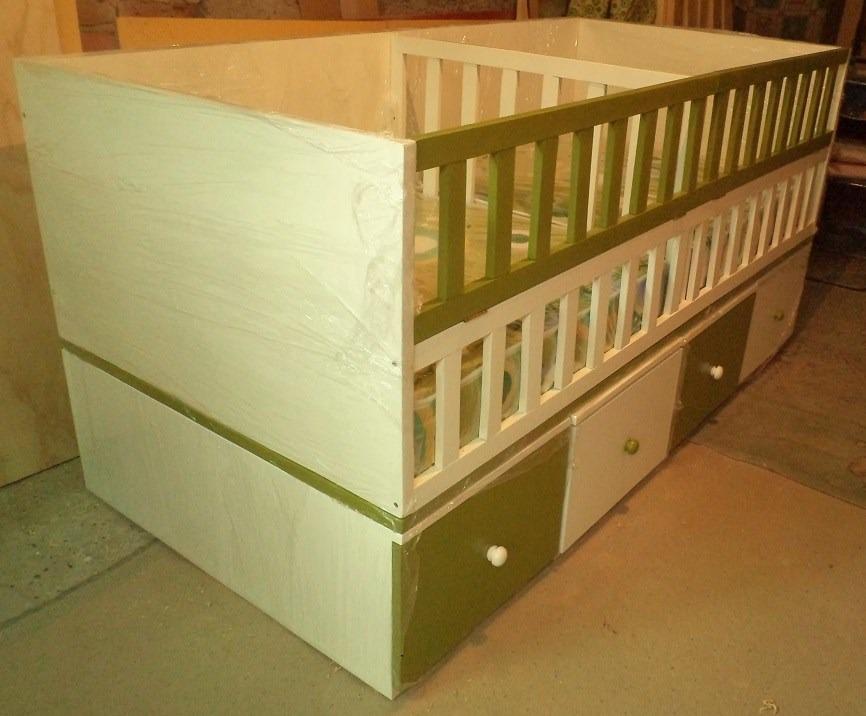 Cunas para mellizos convertibles en 2 camas velador - Cuna o cuna convertible ...