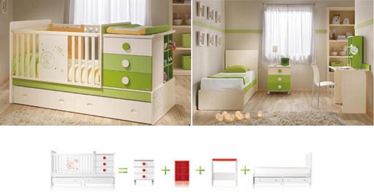 Cunas remate convertcama escritorio velador repisa cama for Cama nido escritorio incorporado
