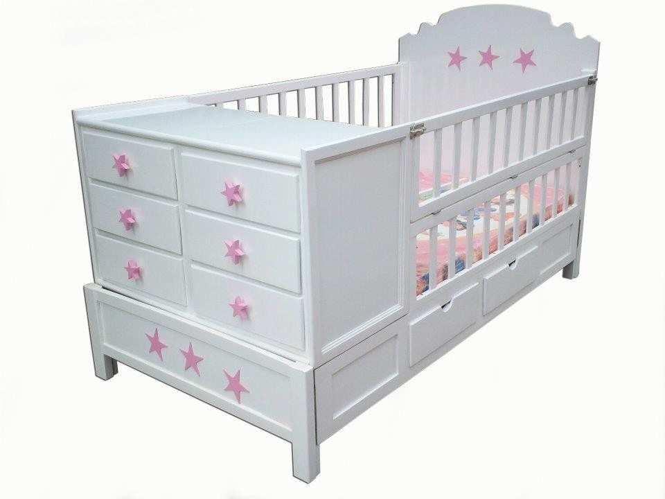 Cunas y cama cunas para bebe 5 en mercado libre - Cuna cama para nina ...