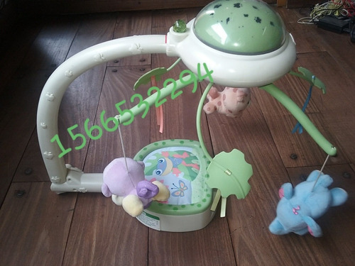cunero movil fisher price rainforest con control remoto.