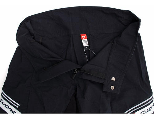 Cuore Men Trail Enduro Freeride Lifestyle Baggy Mountain Bike Shorts Black