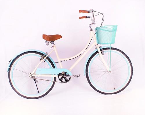 cupcake canastilla - bici urbana rodada 26