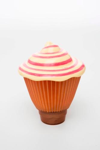 cupcake surpresa luz capuccino da estrela - bonellihq l18