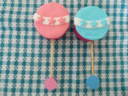 cupcakes, bautismo, baby shower, nacimiento.