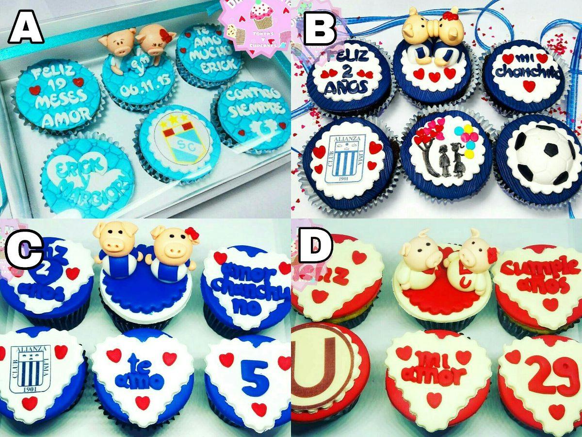 Cupcakes Cumpleanos Aniversario 100 Calidad Consulta Antes S 72