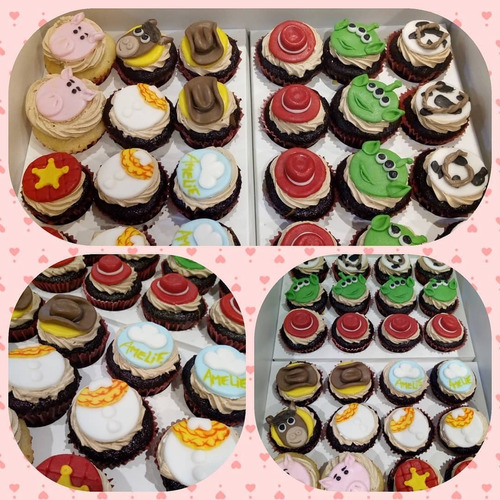 cupcakes - cupcakes decorados - mesa dulce - candy bar