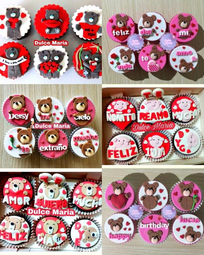 Cupcakes De Enamorados Aniversario Consulta Antes S 66 00 En
