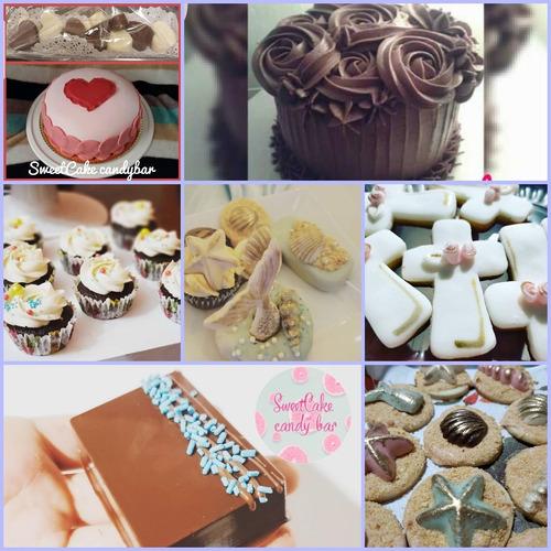 cupcakes decorados - cookies galletitas -  paletas decoradas