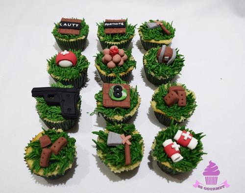 cupcakes fortnite play juego ladrillos mesa dulce