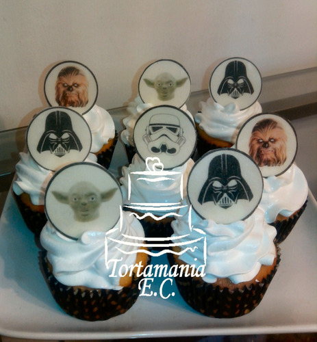 cupcakes infantiles  .precio por unidad