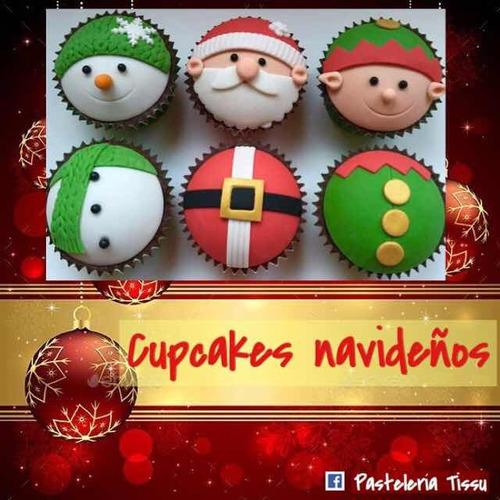 cupcakes navideños
