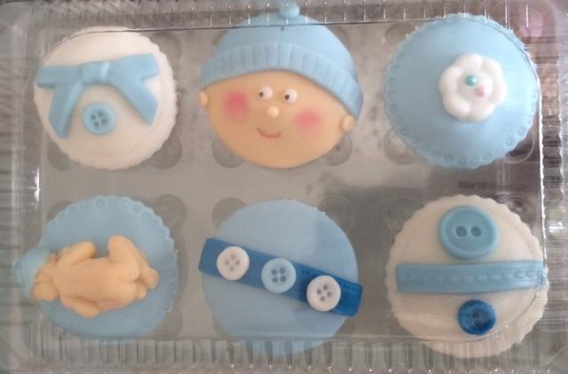 Cupcakes Para Baby Shower 2000 En Mercado Libre