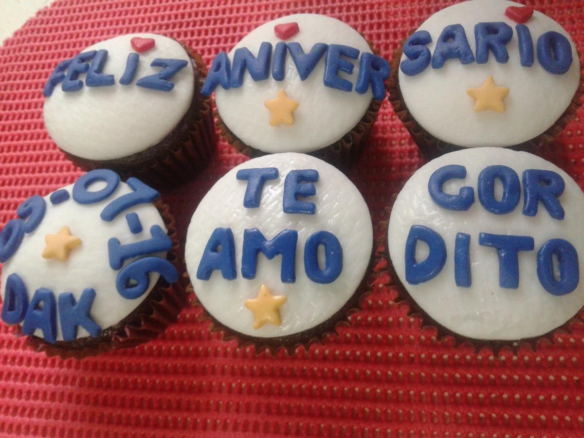 Cupcakes Ragalo Amor Enamorados S 15 00 En Mercado Libre