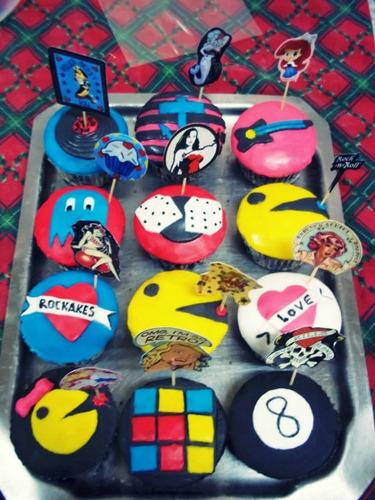 cupcakes rockakes personalizados por docena!