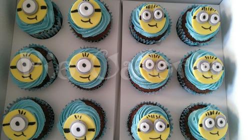 cupcakes temáticos decorados personalizados