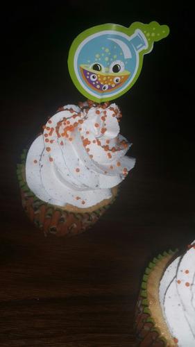 cupcakes varias decoraciones!