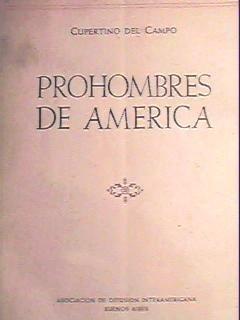 cupertino del campo - prohombres de américa - retratos