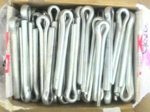 cupilla pasador de aletas galvanizada 3/8x2-1/2 (10 und)