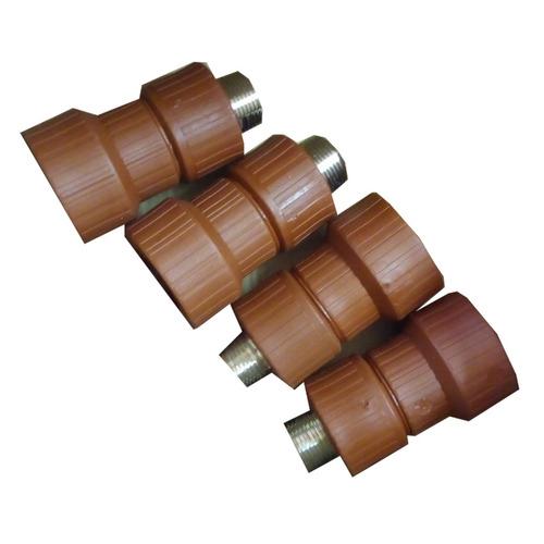 cupla fusión h3 reducción 3/4 a 1´ por mayor c/metal x100u