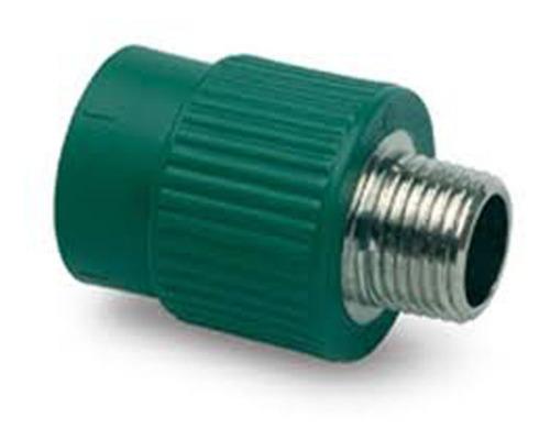 cupla tubo incerto macho 20mm termofusion aprobado