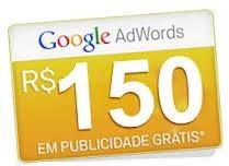 cupom de r$ 150,00 para google adwords