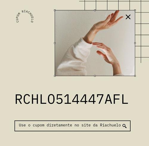 cupom riachuelo - 10% off