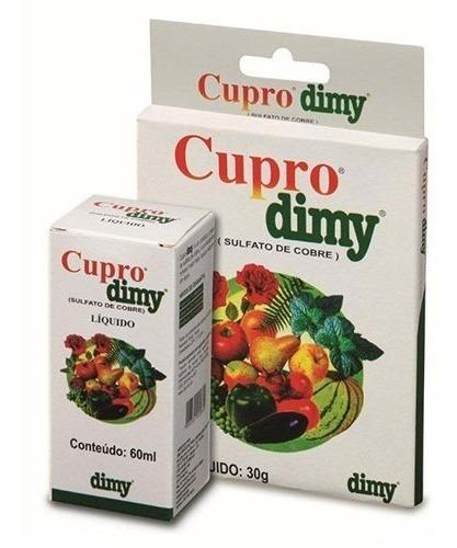 cupro dimy 30 gramas - sulfato de cobre via foliar doenças