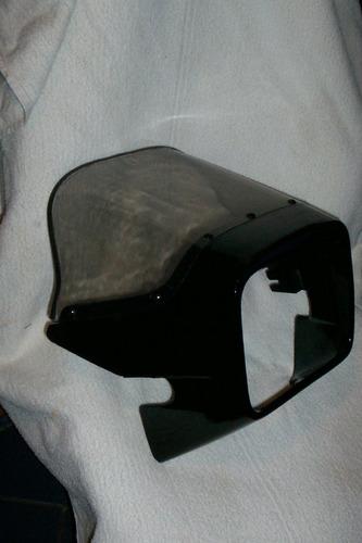 cupula frontal para moto